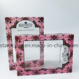 Caixa de embalagem plástica para produtos cosméticos, perfumes e de cuidados de saúde