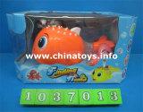 최신 판매 플라스틱 전기 물고기 장난감, 아이는 분다 Balloontoys (1037002)를