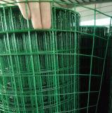 Il PVC ha ricoperto/rete metallica saldata galvanizzata per obbligazione