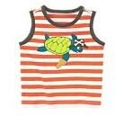 Kid's Wear Kid's une bande de réservoir animal tortue