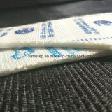 La seguridad de goma de Waterproo del cuero genuino anuda S3