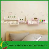 가정 가구 일반 용도 파티클 보드 장식적인 벽 선반