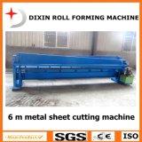 Máquina de corte hidráulica de Dx para a estaca da placa da folha de metal