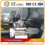 Tornos da base lisa da fábrica Ck6125 de Taian Yz