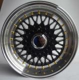 15, оправа алюминия колеса сплава конструкции BBS 16 дюймов