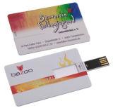 Unidad flash USB Tarjeta personalizada mejor regalo de 1GB - 4GB