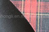 Tessuto tinto filato, tessuto del plaid di T/R, 275GSM, 63%Polyester 33%Rayon 4%Spandex