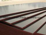 madeira compensada da película de Brown da madeira compensada da construção da madeira compensada de 12mm