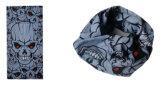 Cor 100% cinzenta da mistura do poliéster Headwear tubular