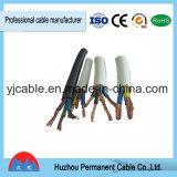 Rvv flexível 1.5 2.5 4 6 10 mm de alumínio revestido de cobre entrançado Condutor de cobre ou Cabo Multi-Cores com PVC