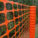 Barriera di sicurezza arancione di plastica della rete metallica di /Plastic della rete fissa della maglia del diamante della fabbrica di prodezza
