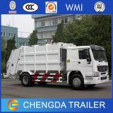 판매를 위한 HOWO 상표 4X2 12cbm 쓰레기 트럭