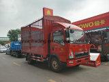 Mini camion di HOWO con il carico del palo