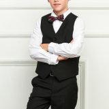 Классицистический черный костюм формы /School блейзера школьной формы