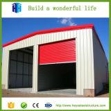 Fábrica caliente de la disposición del taller de la fabricación de la estructura de acero de la venta