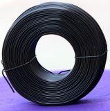 Провод поставкы Bwg8-36# фабрики Anping мягко черный обожженный