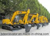 쉬운 운영 Yellow/0.5m3 굴착기 Bd90 크롤러 굴착기