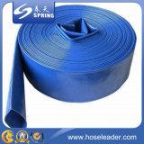 Шланг сада полива воды плоского шланга PVC положенный пластмассой гибкий