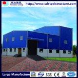 Estructura de acero modular Campo de trabajador de la construcción