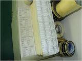 Pirnted 서류상 접착성 스티커 PVC 자동 접착 레이블 (Z27)