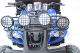 Granja de caucho de neumáticos para nieve ATV Quad con Tráiler cuatro faros