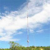 Acier galvanisé de haute qualité en treillis haubané de Télécom Tour de Communication