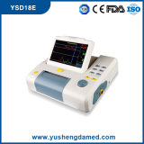 7 Zoll Toco/Ultraschallsignalumformer-Antepartum schwangeres Mutterfötaler Monitor