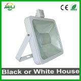 Новый стиль 100W белого или черного цвета датчика Светодиодный прожектор