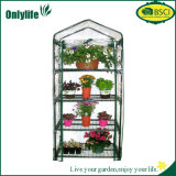 Estufa Foldable do plástico do jardim do frame do PC de Onlylife 4-Tier