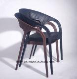 Presidenza di vimini del caffè del rattan di plastica per la mobilia del giardino e della casa (LL-1901)