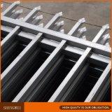 rete fissa d'acciaio rivestita della polvere nera di 2.4m x di 1.8m