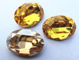 pedra extravagante de cristal oval de 10*14 13*18 para a fatura da jóia
