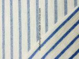 고품질 프랑스 테리는 CVC 95/5 면 줄무늬 뜨개질을 하는 직물을 털실 염색한다