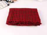 Длинний шарф кашемира зимы связанный Pashmina для людей и женщин