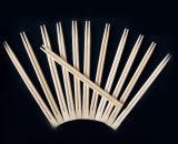 Palillos de bambú disponibles con la cubierta del papel de impresión en color