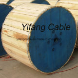 XLPE aisló, acorazado, cable de cobre envuelto PVC