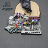 Medaglia corrente antica su ordinazione della stazione di finitura di sport di maratona