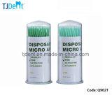 Alimentação econômica aplicador micro descartáveis dentária multa verde e verde claro (Q902T)