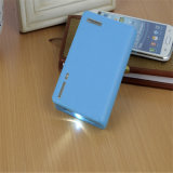 6000mAh Fashion Wallet Shape Power Bank 2 Chargeur USB Mobile