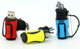 Lecteur flash USB de dessin animé de bâton de flash USB de sac de golf