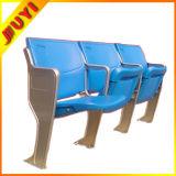 Blm-4151 im FreienRatan mit Armlehne Belüftung-Rohrbleacher-Sitze verwendeten Plastikfalz-Stühlen
