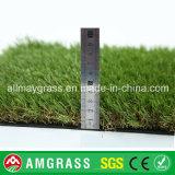 Campo verde e grama sintética para jardim