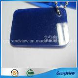 Bleu foncé feuille acrylique moulé emballé avec film PE