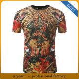بالجملة بوليستر جميعا على يشبع صبغ تصميد [ت] قميص طباعة