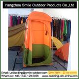 Doppia tenda di campeggio di alluminio della toletta dell'acquazzone del Palo Germania