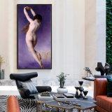 Оптовая картина маслом украшения высокого качества, картина ландшафта, картина искусствоа (letoile perdue)