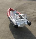 Chine Aqualand 20feet 6.2m Bateau à moteur à côtes / Fibre de verre Bateau pneumatique rigide / Pêche / Sauvetage / Patrouille (rib620d)