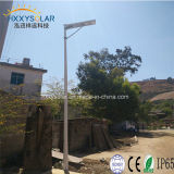 China Manufacturer 5 Years Warranty Integrated Solar Li-ion Battery Street Light 20 Watt with Motion Sensor