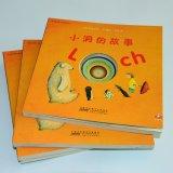 Impression colorée de livre pour enfant d'impression de livre de trou d'enfants/d'impression livre d'enfant