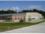 Edificio de la estructura de acero del Grande-Palmo para el almacén/el taller